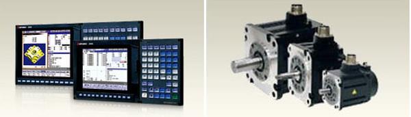 CNC数値制御装置・サーボモーター